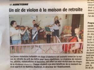 recensie Maison de Retraite concert